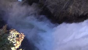 Waterfall in Grand Canyon of Yellowstone