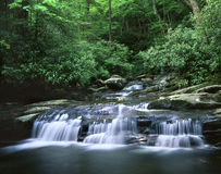 Waterfall, Great Smoky Mountains Stock Photo