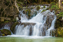 Waterfall in Greece Royalty Free Stock Image