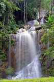 Waterfall. In green forest in Thailand Stock Photo