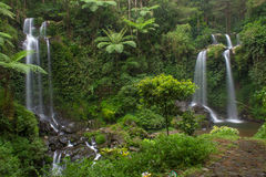 Waterfall. Grejegan kembar waterfall, magelang, central java, indonesia Royalty Free Stock Image