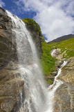 Waterfall at the Grossglockner Royalty Free Stock Photo
