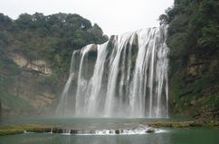 Waterfall in Guizhou Stock Photo