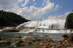Waterfall Guizhou Royalty Free Stock Photo