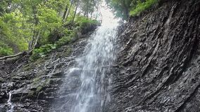 The waterfall Guk stock video
