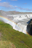 Waterfall Gulfoss Iceland Royalty Free Stock Photography