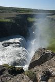Waterfall Gullfoss Stock Photo