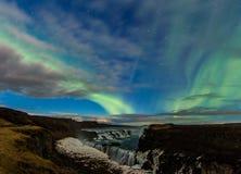 Waterfall Gullfoss Royalty Free Stock Photography