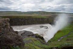 Waterfall Gullfoss, Iceland Royalty Free Stock Photo
