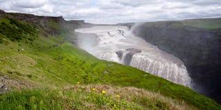 Waterfall Gullfoss, Iceland Royalty Free Stock Image