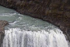 The waterfall Gullfoss Stock Image