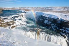 Waterfall Gullfoss Royalty Free Stock Image