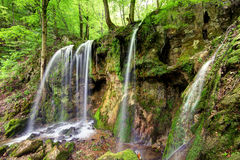 Waterfall Hajske in Slovakia Stock Image