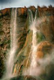 Waterfall, Hammamat Ma`in, Jordan Stock Image