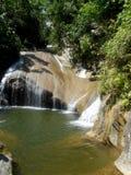 Waterfall. At Hanabanilla Lake, Cuba Royalty Free Stock Photos