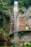 Waterfall in the Harau Valley. Royalty Free Stock Photography