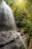 Waterfall in the Harau Valley. Royalty Free Stock Photo
