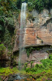 Waterfall in the Harau Valley. Royalty Free Stock Photos