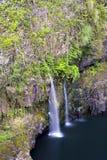 Waterfall in Hawaii Royalty Free Stock Photography