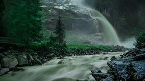 Waterfall in Austria royalty free stock image