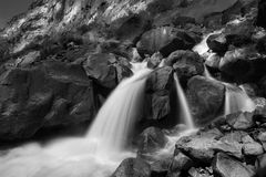 Waterfall at Hetch Hetchy Stock Images
