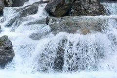 Waterfall (High Tatras, Slovakia). Royalty Free Stock Photography
