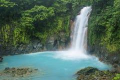 Waterfall Hike Stock Photo
