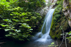 Waterfall Hike Noto Valley of the Gods Royalty Free Stock Photo