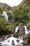Waterfall in Himalayas Royalty Free Stock Image