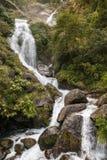 Waterfall in Himalayas Stock Image
