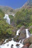 Waterfall in Himalayas Stock Photo