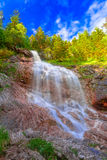 Waterfall hinterstein in allgau Stock Photos