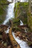 Waterfall - Hlboca - Slovakia Stock Images