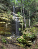 Waterfall  in Hocking HIlls Ohio Royalty Free Stock Images