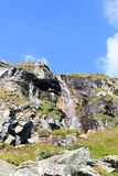 Waterfall, Hohe Tauern Alps, Austria Stock Photography