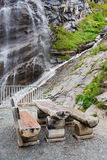 Waterfall in Hohe Tauern National Park Stock Photography
