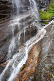 Waterfall in Hohe Tauern National Park Royalty Free Stock Photo