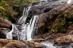 Waterfall in Horton Plains National Park, Sri Lanka Stock Photos