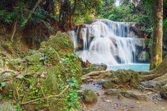 Waterfall Huay Mae Kamin Stock Image