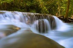 Waterfall. Huay Mae Kamin waterfall in Kanchanaburee province Thailand Stock Photography