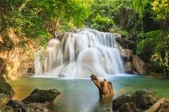 Waterfall Huay Mae Kamin Royalty Free Stock Image
