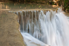 Waterfall Huay Mae Kamin Park Royalty Free Stock Photos