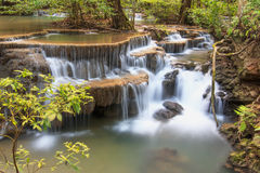 Waterfall ,Huay Mae Kamin. Thailand Stock Images