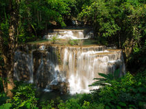 Waterfall at Huay Mae Khamin National Park Royalty Free Stock Photo