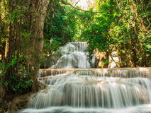 Waterfall at Huay Mae Khamin National Park Stock Photos