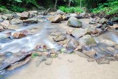 Waterfall in Huay to krabi Thailand. Waterfall in Huay to krabi province Thailand Royalty Free Stock Photography