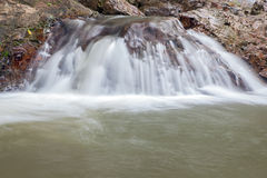 Waterfall in Huay to krabi Thailand. Waterfall in Huay to krabi province Thailand Royalty Free Stock Images