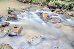 Waterfall in Huay to krabi Thailand. Waterfall in Huay to krabi province Thailand Royalty Free Stock Image