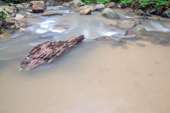 Waterfall in Huay to krabi Thailand Royalty Free Stock Photo