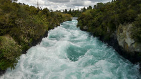 Waterfall Huka Falls Stock Photography
